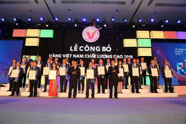 Sản phẩm ống nhựa Dekko vinh dự nhận Danh Hiệu Hàng Việt Nam chất lượng cao 2018.